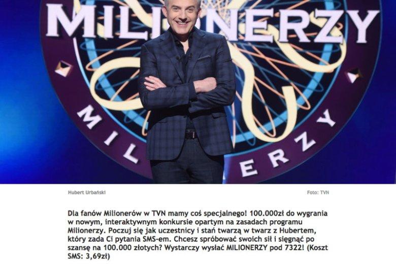 Hubert Urbański jest twarzą konkursu organizowanego przez mobiwin i TVN.