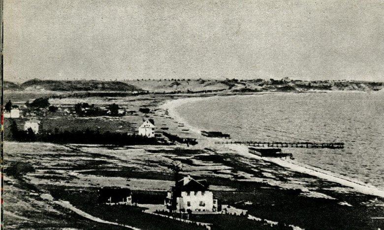 Panorama Gdyni, przypuszczalnie okolice 1920 roku