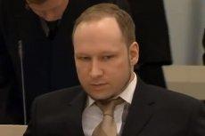 Andreas Breivik odsiaduje wyrok za zabicie 77 osób.