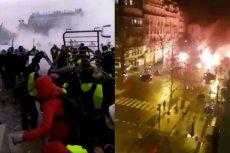 Na ulicach Paryża toczy się regularna bitwa