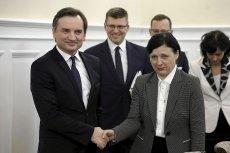 Odpowiadająca za wartości i przejrzystość wiceprzewodnicząca Komisji Europejskiej Věra Jourová w ramach wizyty roboczej w Polsce spotkała się z ministrem sprawiedliwości i prokuratorem generalny Zbigniewem Ziobrą