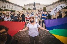 Antyrządowa manifestacja rozpoczęła sięna Placu Konstytucji w Warszawie