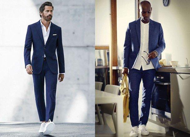 Białe buty w modzie męskiej For Gentleman