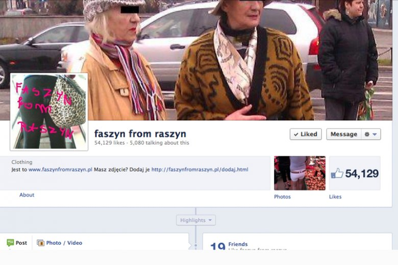 Faszyn from Raszyn, kronika bezguścia.