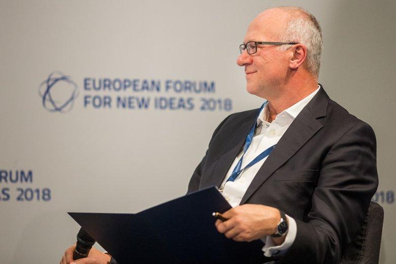 Panel poprowadził Sławomir Sikora - CEO banku Citi Handlowy.
