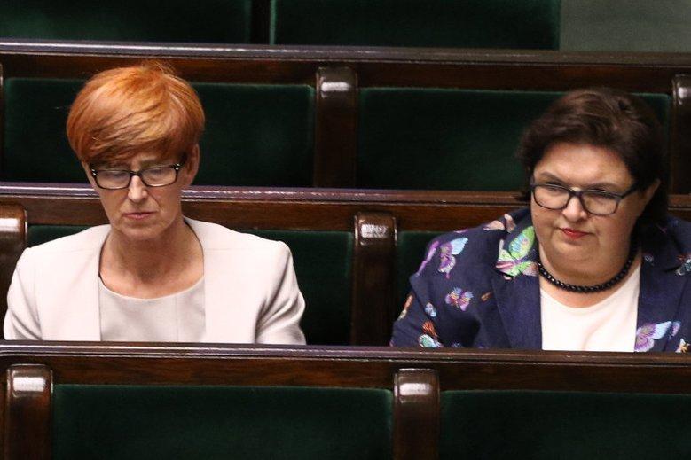 Elżbieta Bojanowska może już powoli żegnać się z teką wiceminister pracy.