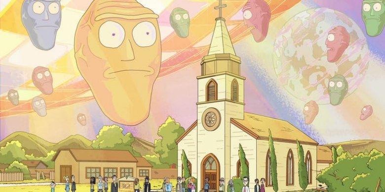 Rick and Morty kreskówkowe porno