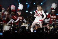 Madonna podczas koncertu w Warszawie