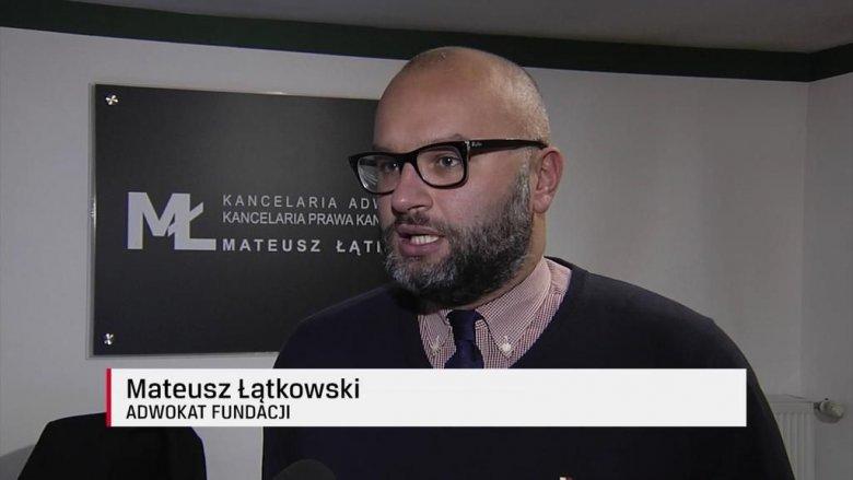 Adw. Mateusz Łątkowski nazywany adwokatem zwierząt.
