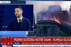W TVP Info istotniejszy od pożaru w Notre Dame byłstrajk nauczycieli.