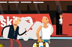 Opublikowany przez spółkę PolskiBus.com film przypomina o zasadach, jakie obowiązują podczas wsiadania do autokaru