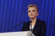 Joanna Scheuring-Wielgus deklaruje wpłatę 20 tysięcy złotych na schronisko, do którego oddała swoje psy. Ale wtedy, gdy  dostanie się do Parlamentu Europejskiego.