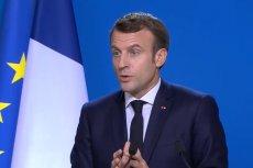 Emmanuel Macron ostrzegł Polskę ws. polityki klimatycznej.
