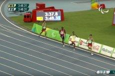 Paraolimpijczycy przebiegli 1500 metrów szybciej niż zwycięzca igrzysk olimpijskich w Rio.