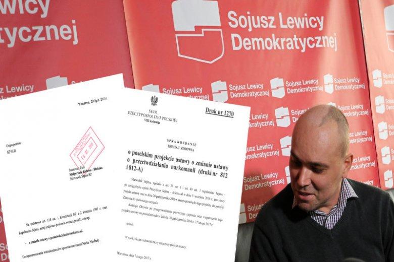 Tomasz Kalita nie doczekał rozwiązań ułatwiających  leczenie marihuaną w Polsce. Jednak obowiązujący projekt, w niczym nie przypomina tego, który on sam proponował.