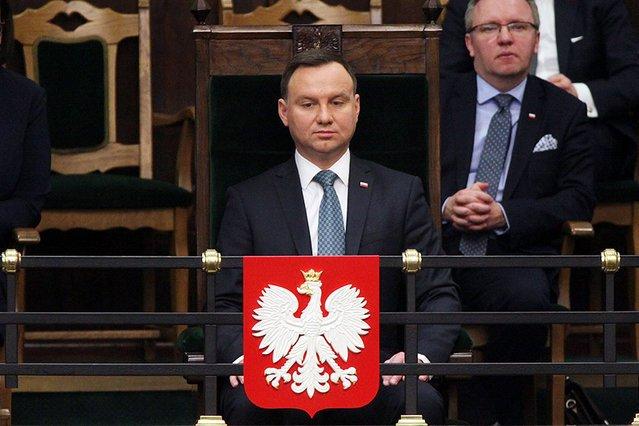 Prezydent Andrzej Duda w lipcu zawetował dwie ustawy - o KRS i Sądzie Najwyższym