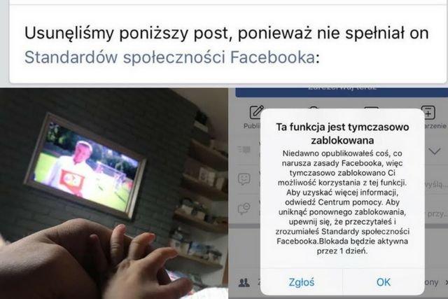 To zdjęcie stało się przyczyną zablokowania konta Filipa Chajzera na Facebooku.
