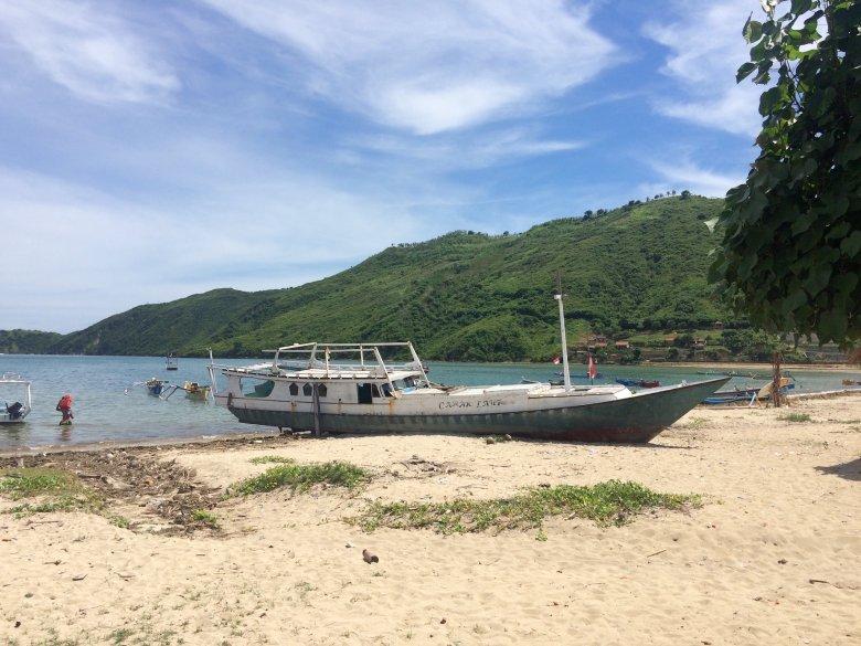 Plaża w Kucie na Lombok, 2016.