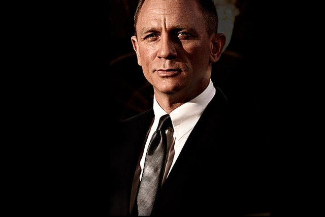 "Daniel Craig jako James Bond w ""Skyfall"""