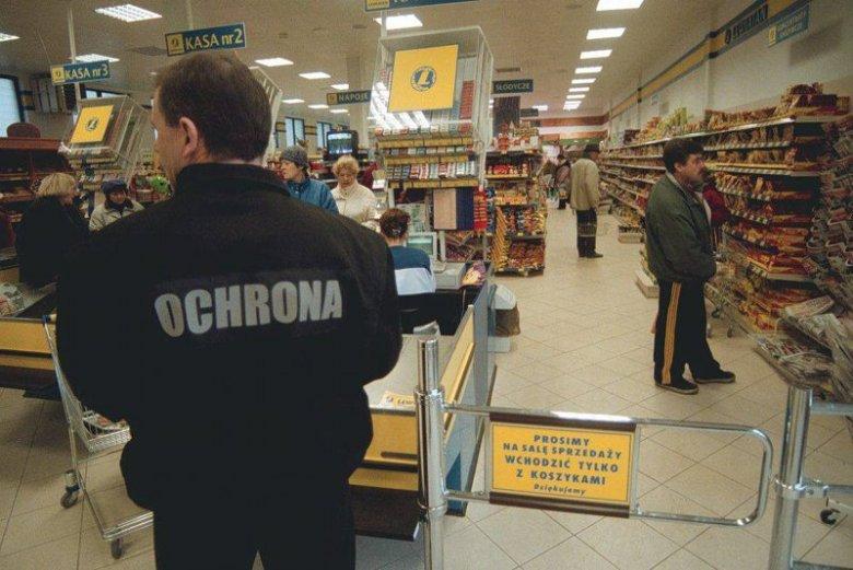 Jak wygląda praca ochroniarza w supermarkecie? Uwaga: zdjęcie jest tylko ilustracją do tekstu.
