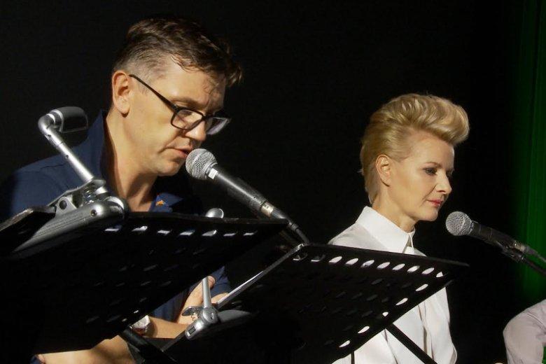W pracach nad dźwiękową adaptacją Biblii uczestniczą znani aktorzy, m.in. Małgorzata Kożuchowska (na zdjęciu)