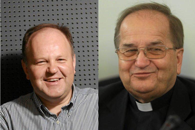 Ks. Kazimierz Sowa i ojciec Tadeusz Rydzyk