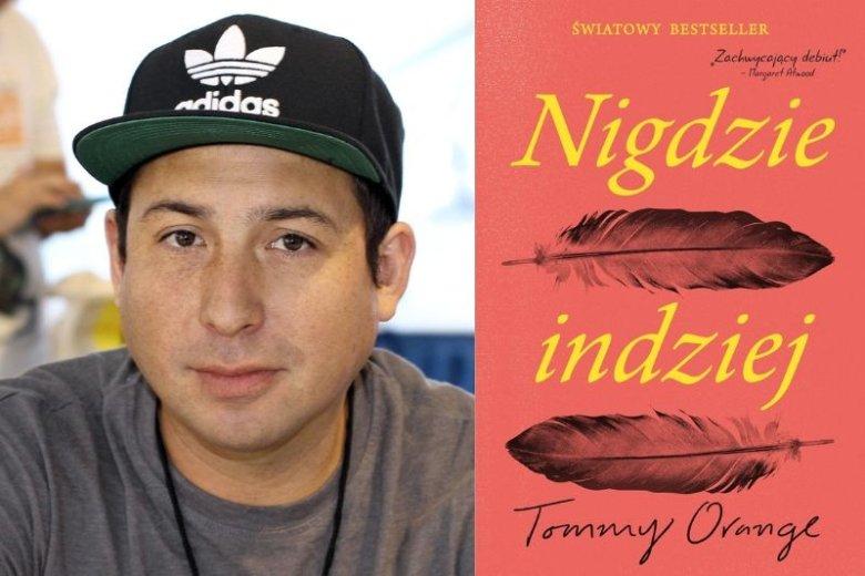 """Tommy Orange jest członkiem plemion Cheyenne i Arapaho z Oklahomy. Urodził się i wychował w Oakland w Kalifornii. Książka """"Nigdzie indziej"""" to jego debiutancka powieść"""