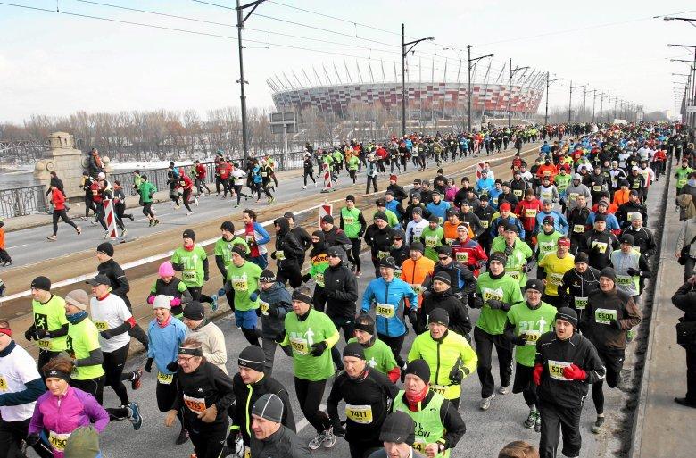 9. PZU Półmaraton Warszawski to jedna z największych imprez biegowych w Europie.