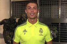 """""""Dzień dobry, Piotrusiu! Nie dawaj się!"""" Cristiano Ronaldo mówi po polsku w ważnym celu"""