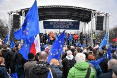 """Dzisiejszy marsz """"Kocham Cię, Europy"""""""
