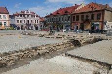 Stanowisko archeologiczne w Bochni musi zostać zamknięte do piątku.