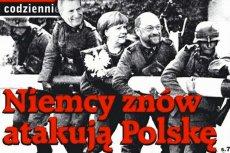 """Okładka najnowszego wydania""""Gazety Polskiej Codziennie""""."""