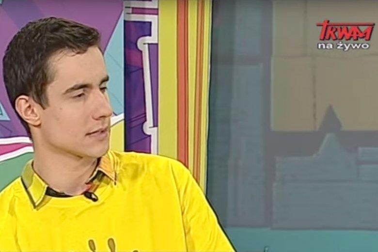 """Damian Szmagliński dołączył do zespołu """"Wiadomości""""."""
