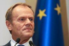 """Donald Tusk jednym z kandydatów na szefa Komisji Europejskiej według serwisu """"Politico""""."""