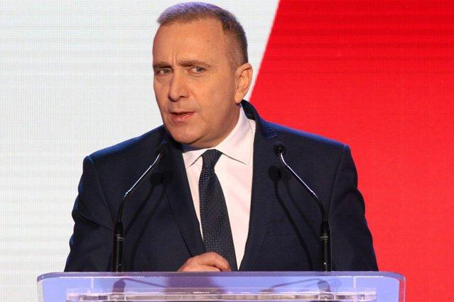 Lider PO Grzegorz Schetyna chce odbić PiS część wyborców