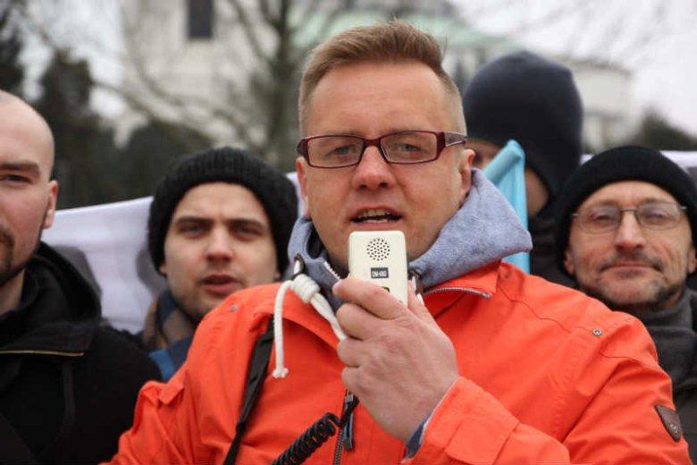 Paweł Tanajno, kandydat Demokracji Bezpośredniej w wyborach prezydenckich.