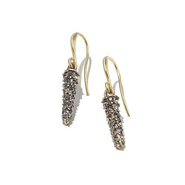 Delikatnie migoczące sopelki – kolczyki. Biżuteria [url=https://www.kateandkate.pl/] Kate&Kate  [/url]