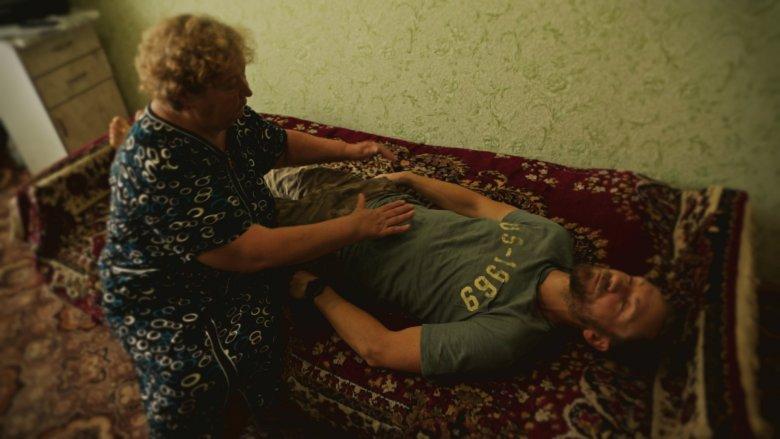 Nazira, faza leczenia energetycznego, Naberezhnye Chelny, Tatarstan, Rosja.