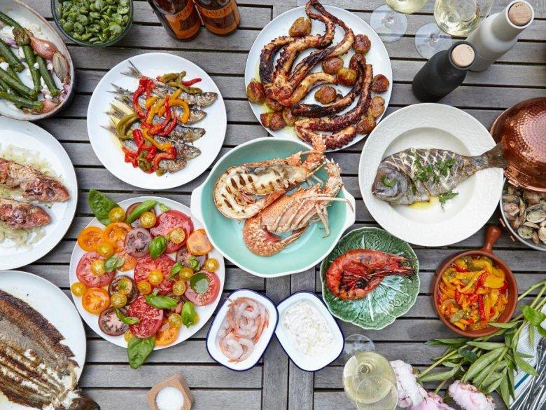 Taką kolację zjecie w restauracji Kafe Zielony Niedźwiedź, którą zaopatruje Fish lovers.