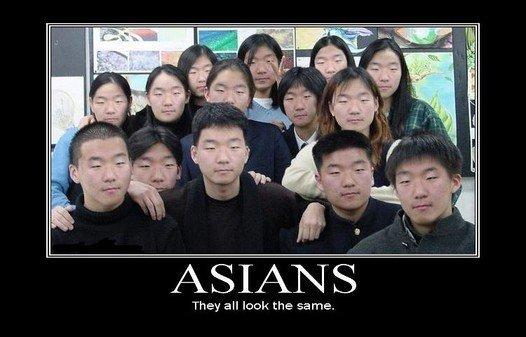 Mimo że to tylko przerobiona w Photoshopie fotografia, potwierdza, że dla wielu ludzi cross-race-effect istnieje.