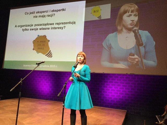 """Konferencja """"My, samorząd. Ludzie, idee, innowacje"""", Instytut Spraw Publicznych, 1 grudnia 2015 r., fot. E. Bendyk"""