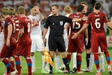 Szkot Craing Thomson, który narobił zamieszania w meczu BVB z Malagą, podczas Euro 2012 sędziował mecz Polaków z Czechami