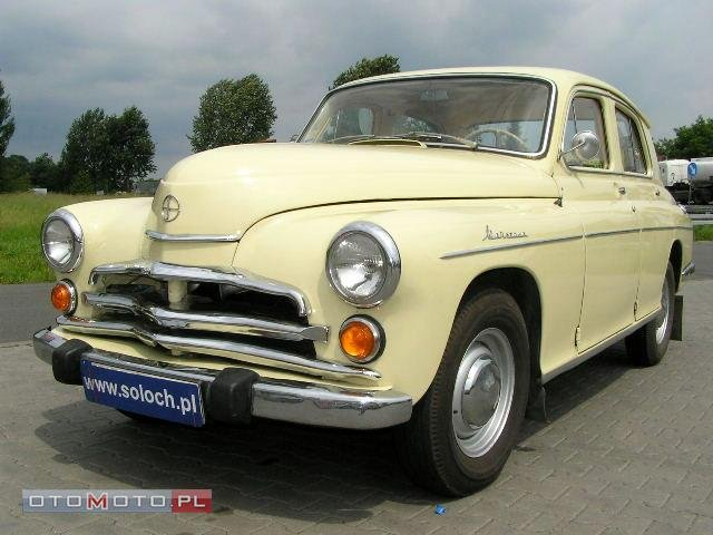 Warszawa 223, Sedan / Limuzyna