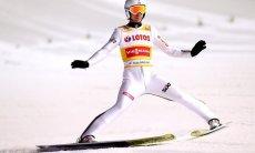 Po pierwszej serii  Pucharu Świata w Zakopanem, Kamil Stoch zajmuje 6 miejsce.