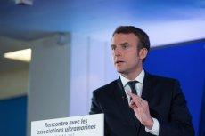 Emmanuel Macron, kandydat lewicy na prezydenta Francji.