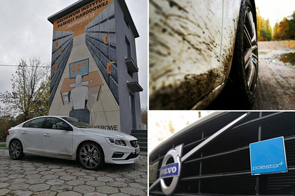 Volvo S60 Polestar na pierwszy rzut oka nie wyróżnia się z tłumu.
