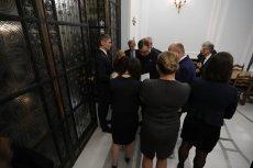 Sala Kolumnowa słynie ze swoich reprezentacyjnych drzwi.
