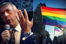 """Roman Giertych w wywiadzie dla weekendowej """"Gazety Wyborczej"""" powiedział, że w walce z PiS nie pomoże eksponowanie haseł walki o prawa mniejszości"""