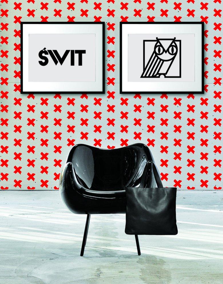 Fotel: Vzór, Grafiki: Full Metal Jacket, Torba: Slava Varsovia