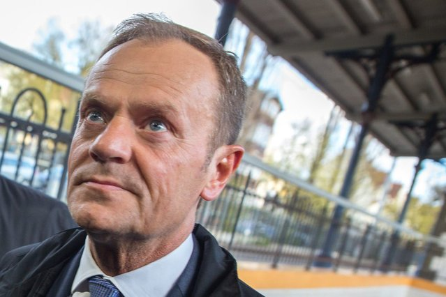 Donald Tusk skrytykował wystąpienie Beaty Szydło w Auschwitz.